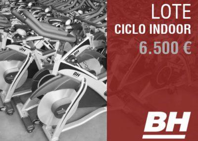 Lote Bicis Ciclo Indoor BH 6.500